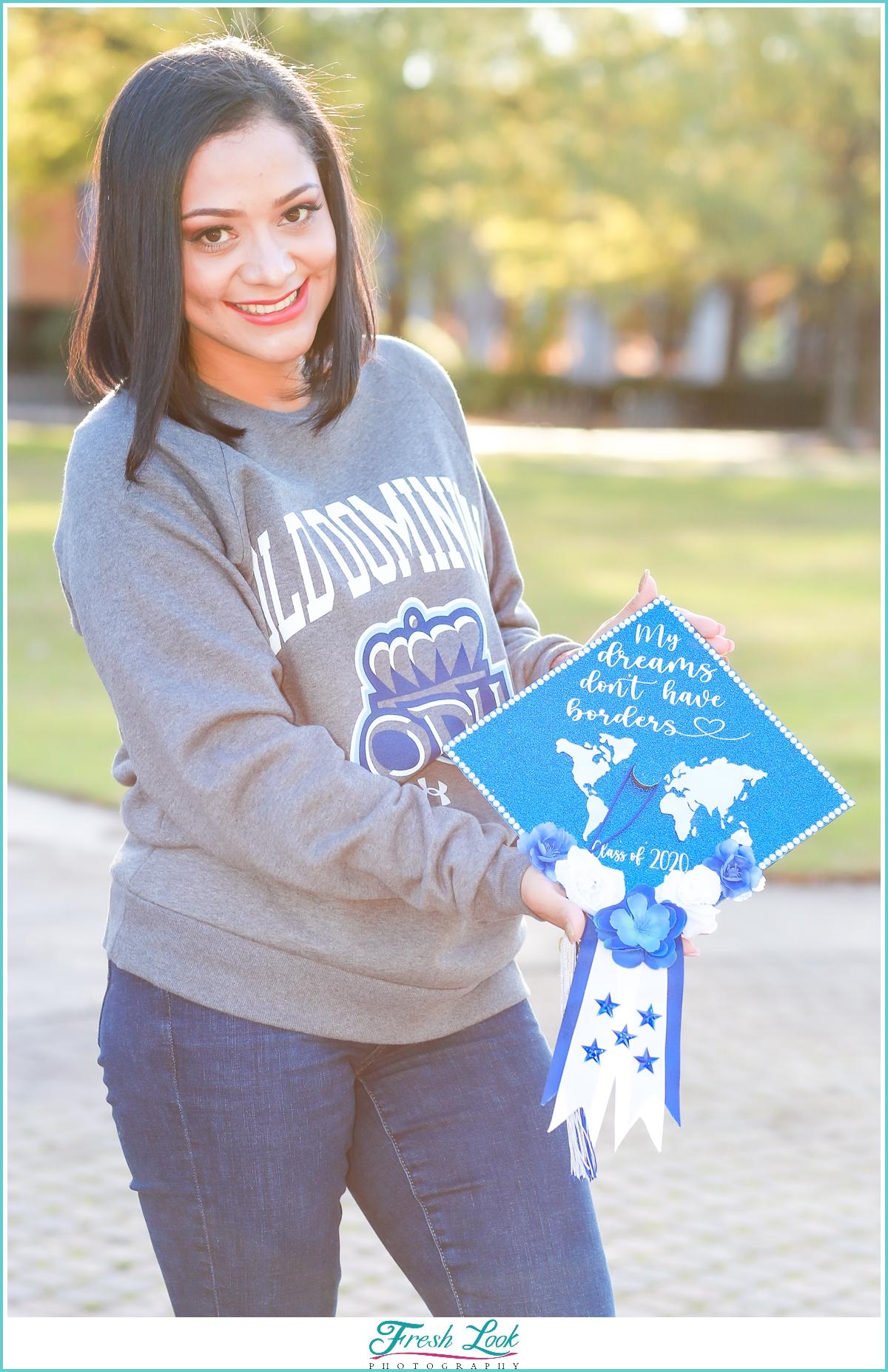 Graduation Photoshoot on College Campus
