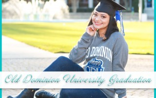 Old Dominion University Graduation Photos