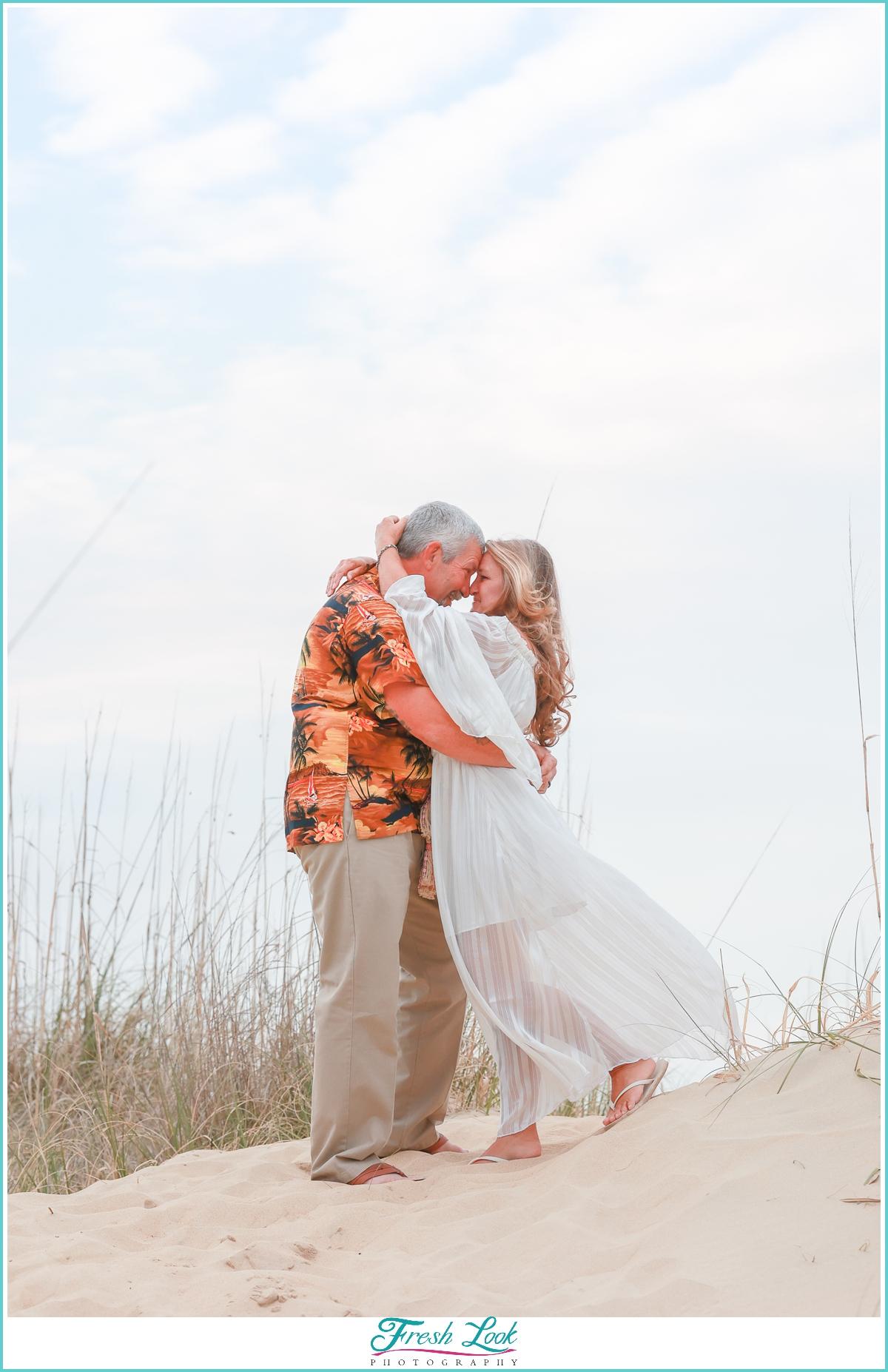 Romantic Norfolk anniversary photoshoot