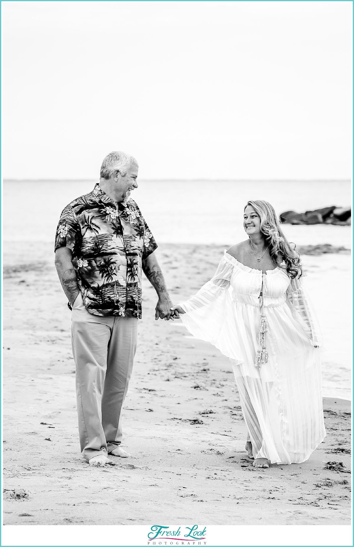Virginia Beach anniversary photography