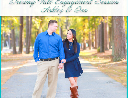 Dreamy Fall Engagement Session | Ashley+Don