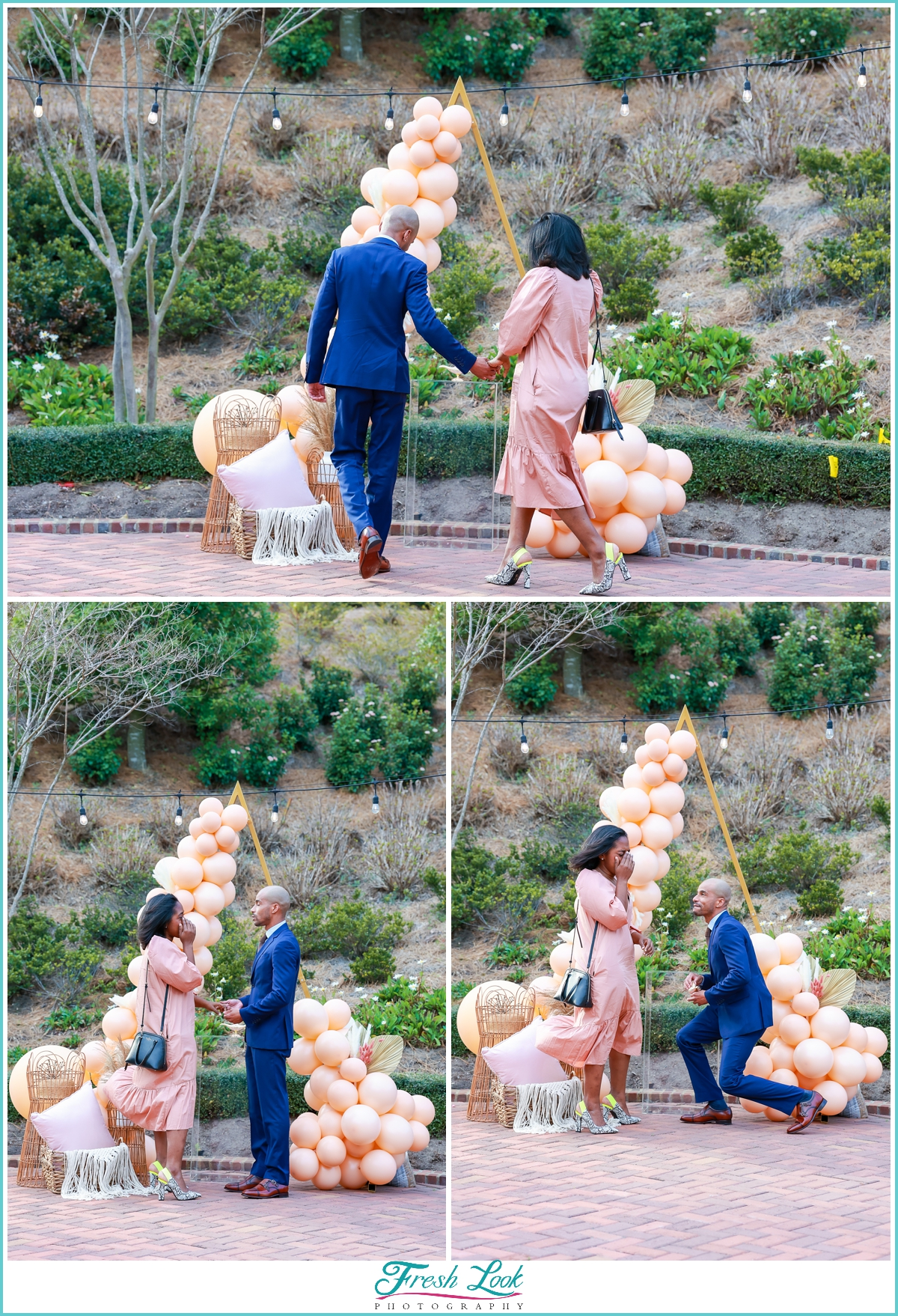 surprise proposal at Cavalier hotel