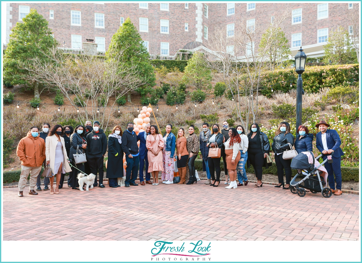 family event at Cavalier Hotel