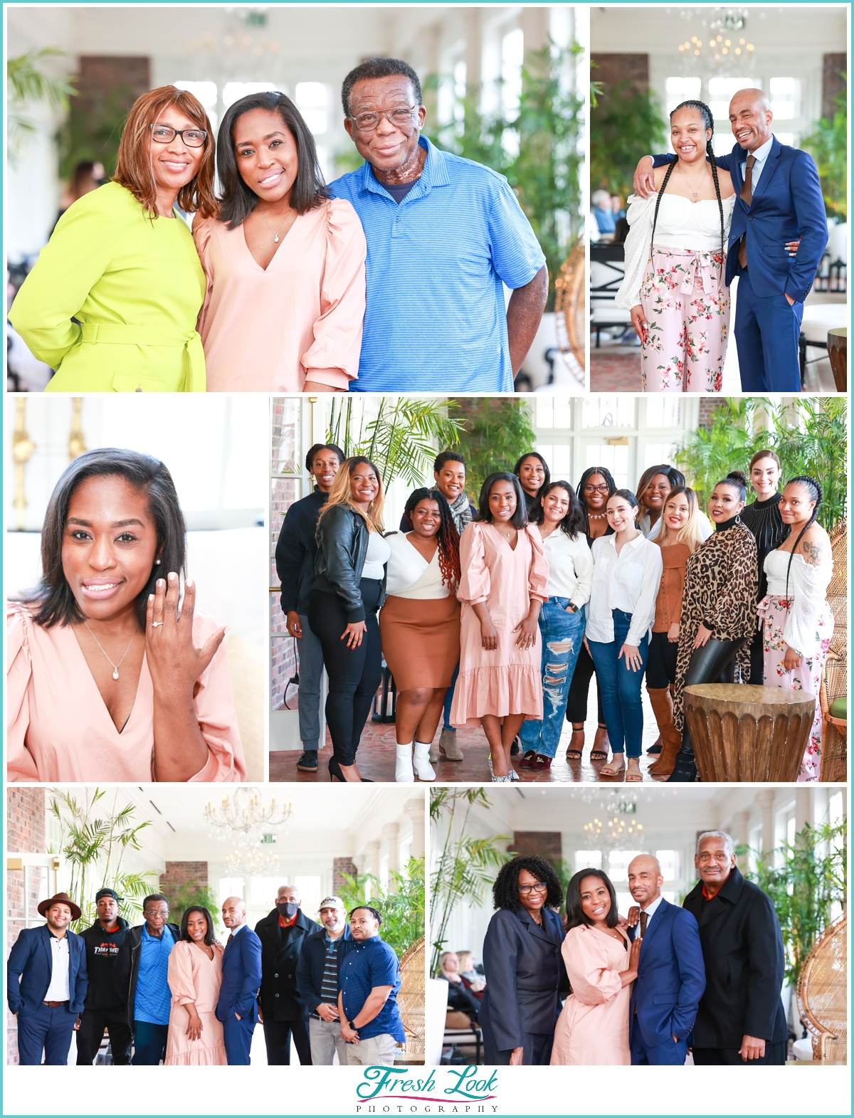 family fun after surprise proposal