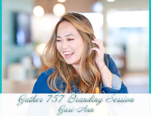 Gather 757 Branding Session | Gari-Ann