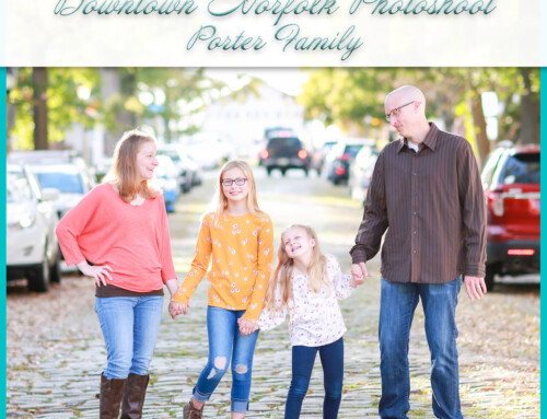Downtown Family Photoshoot | The Porters