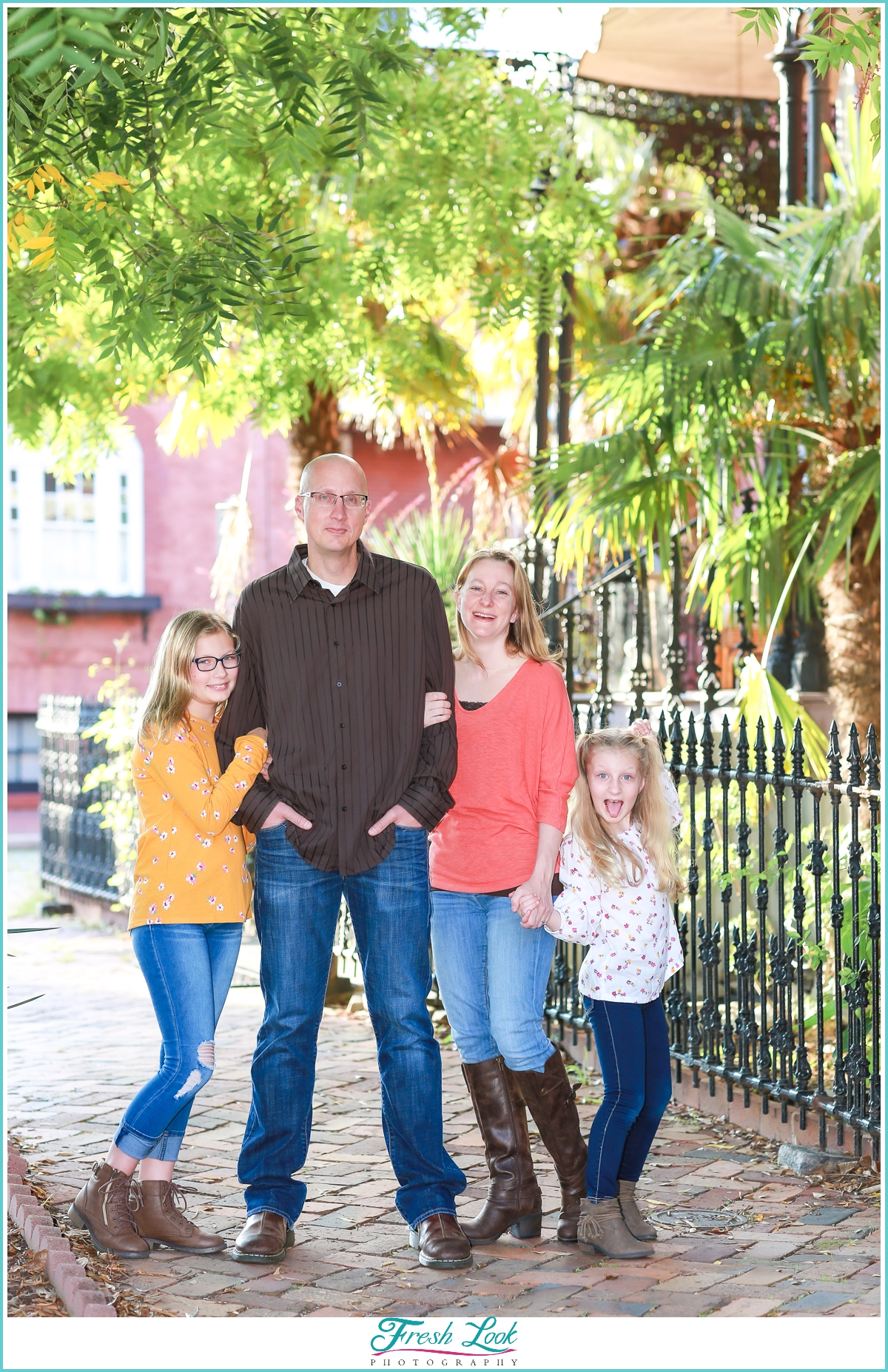 Downtown Family Photoshoot