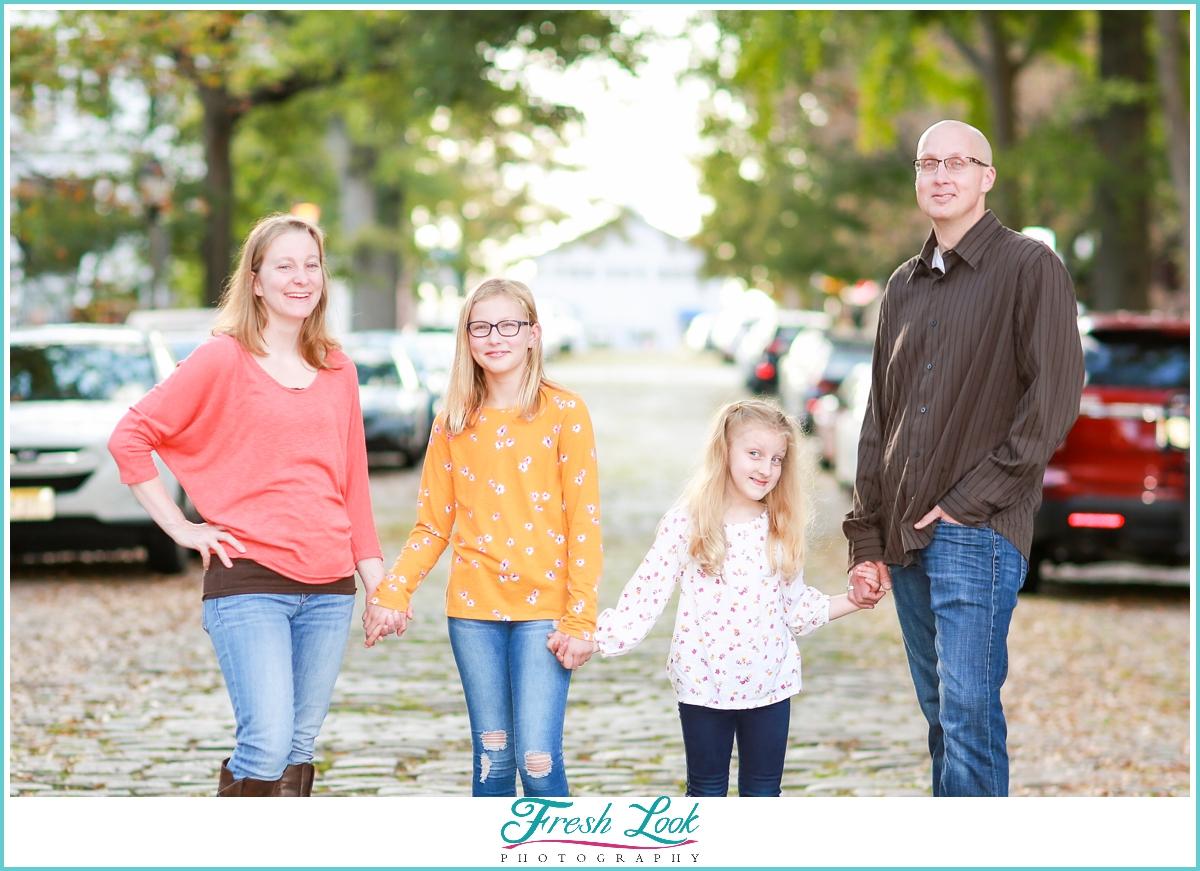 downtown Norfolk family photos