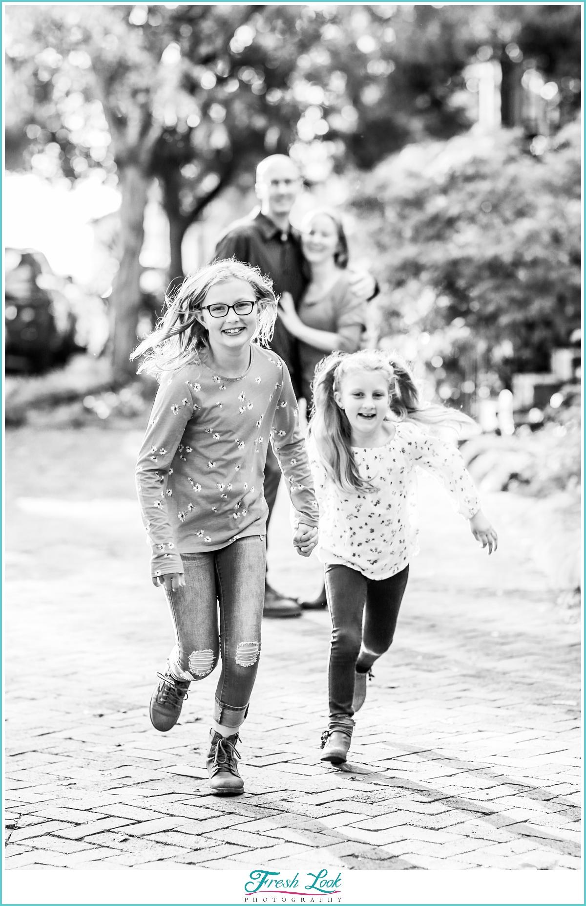 fun family photos in Norfolk