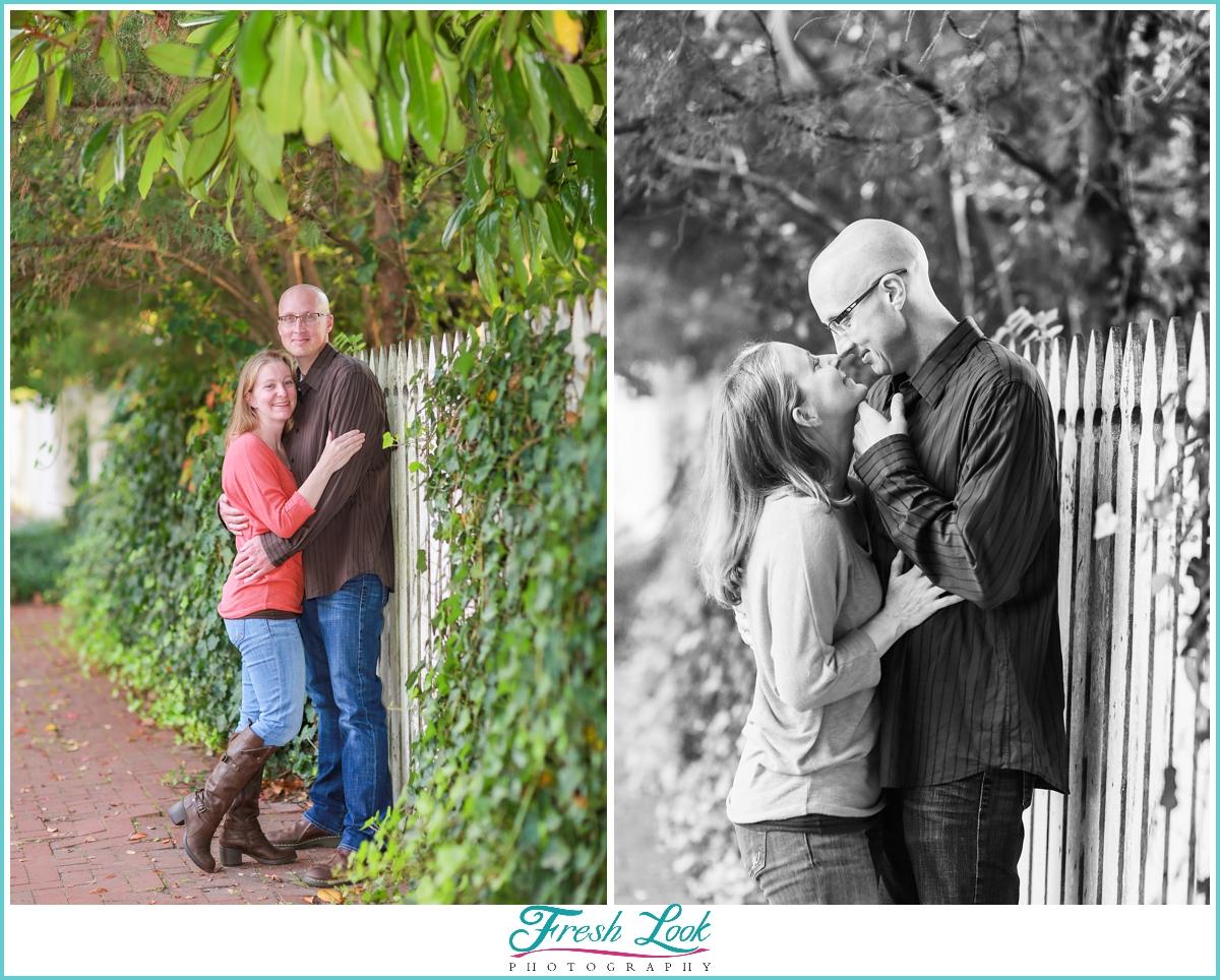 romantic couples portraits in Norfolk