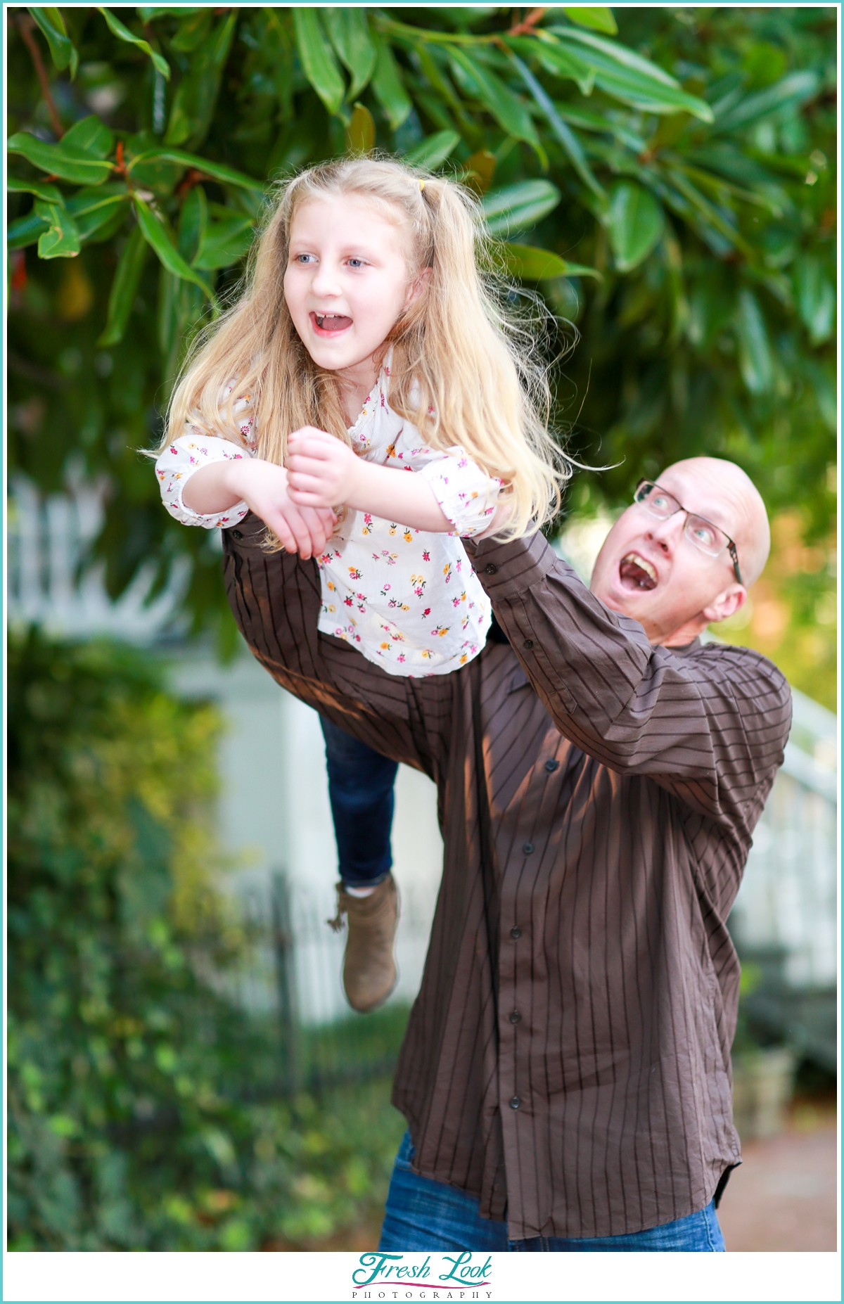 father and daughter photoshoot
