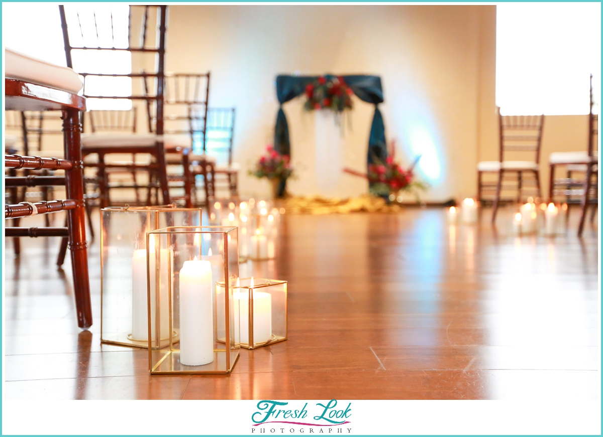 Mambo Room wedding ceremony