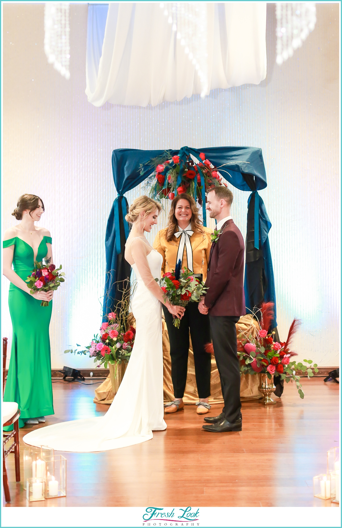 indoor wedding ceremony ideas