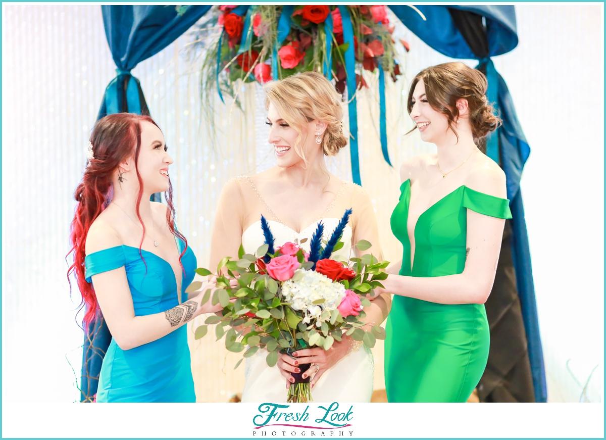 fall jewel toned wedding inspo