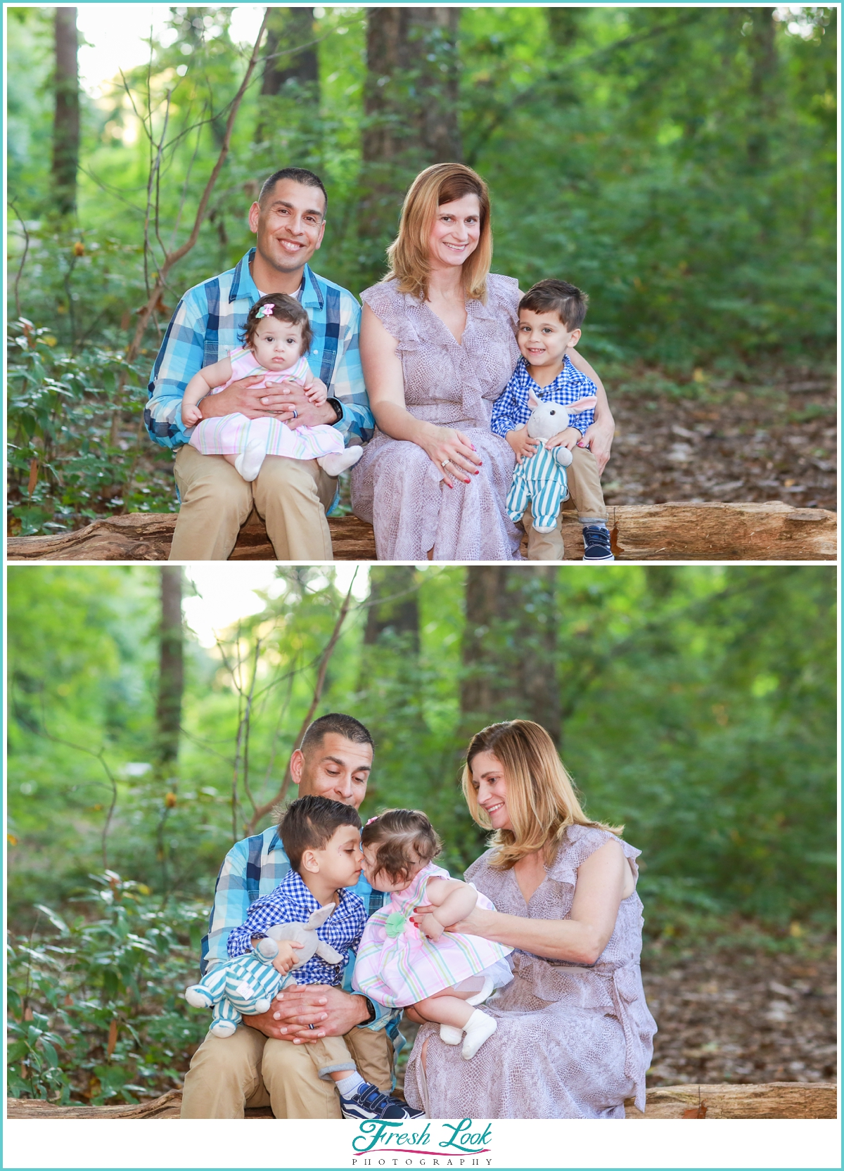 woodsy family phootshoot