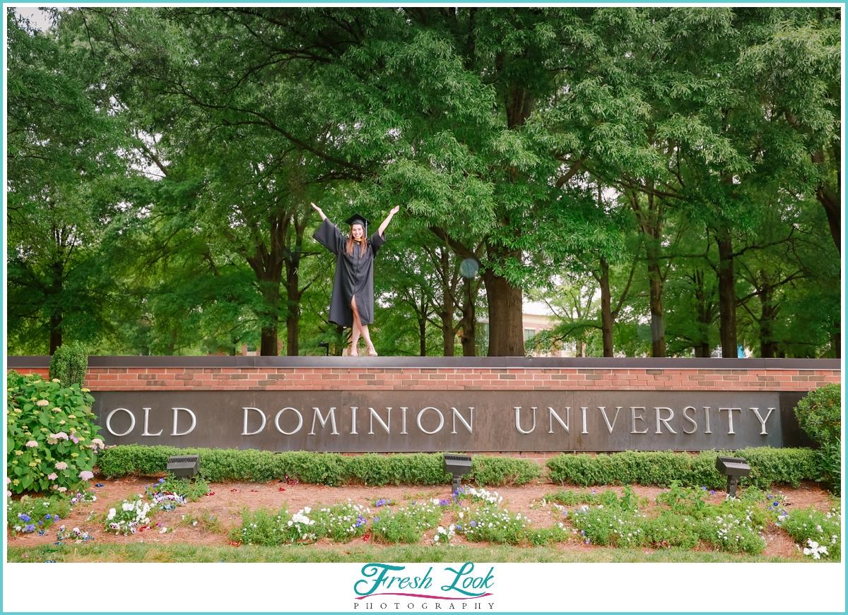 Old Dominion University College Graduation