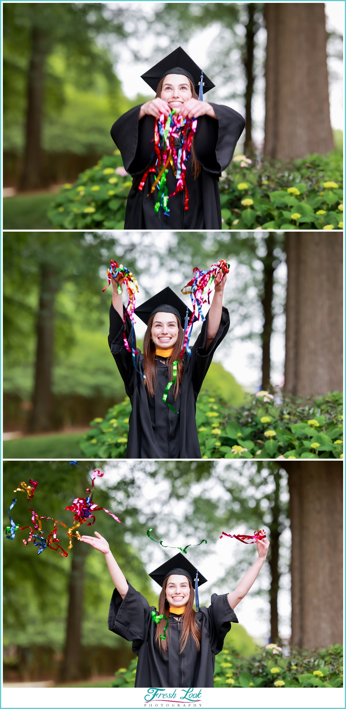 Streamers fun at graduation