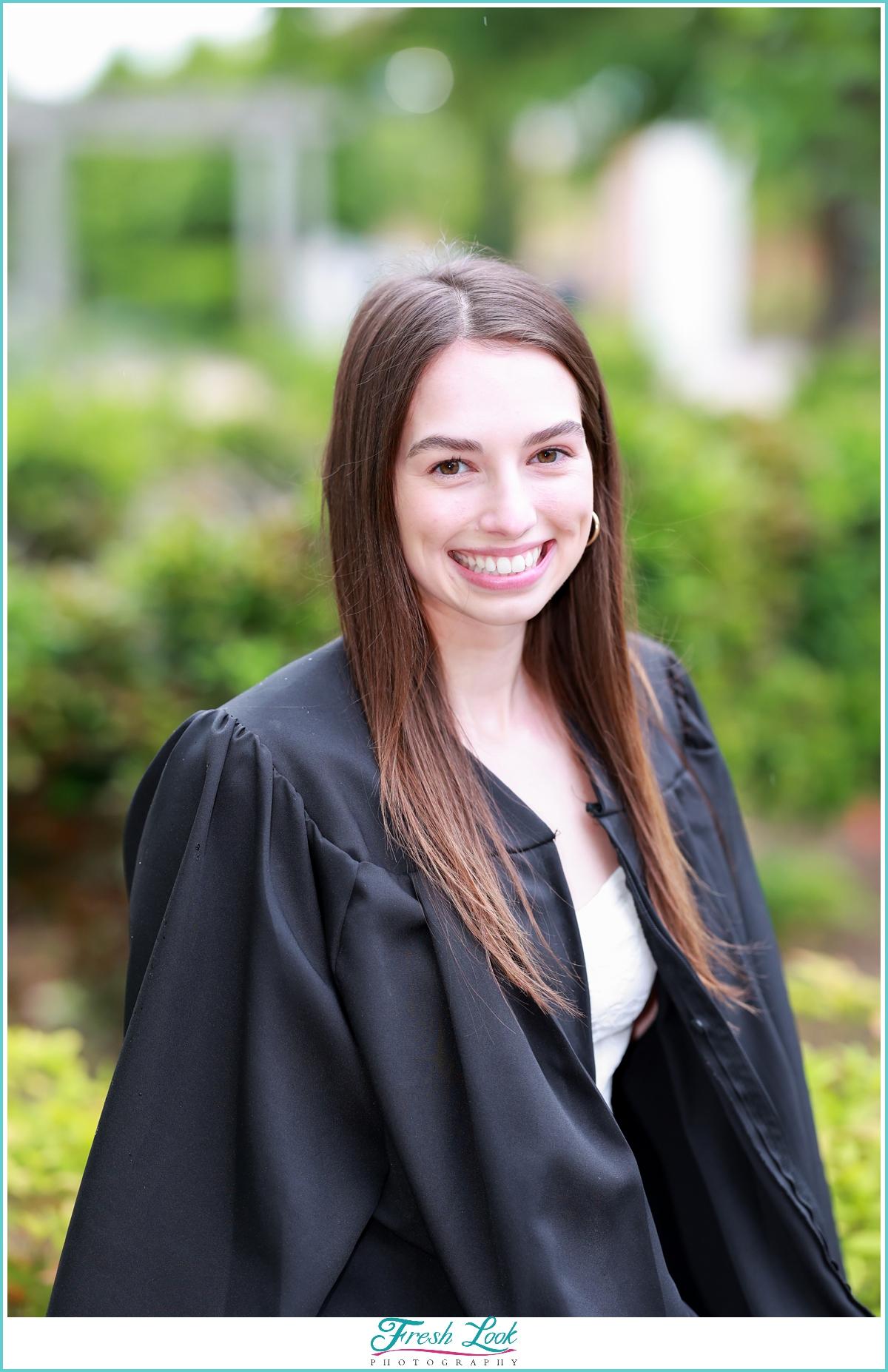 ODU College Graduation Portrait