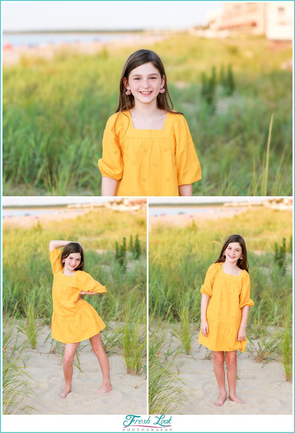 little princess beach photoshoot
