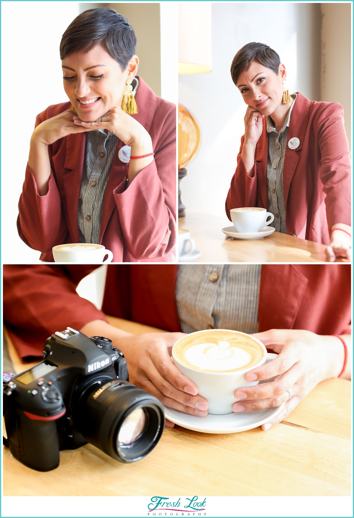 Coffee Shop Business Headshots