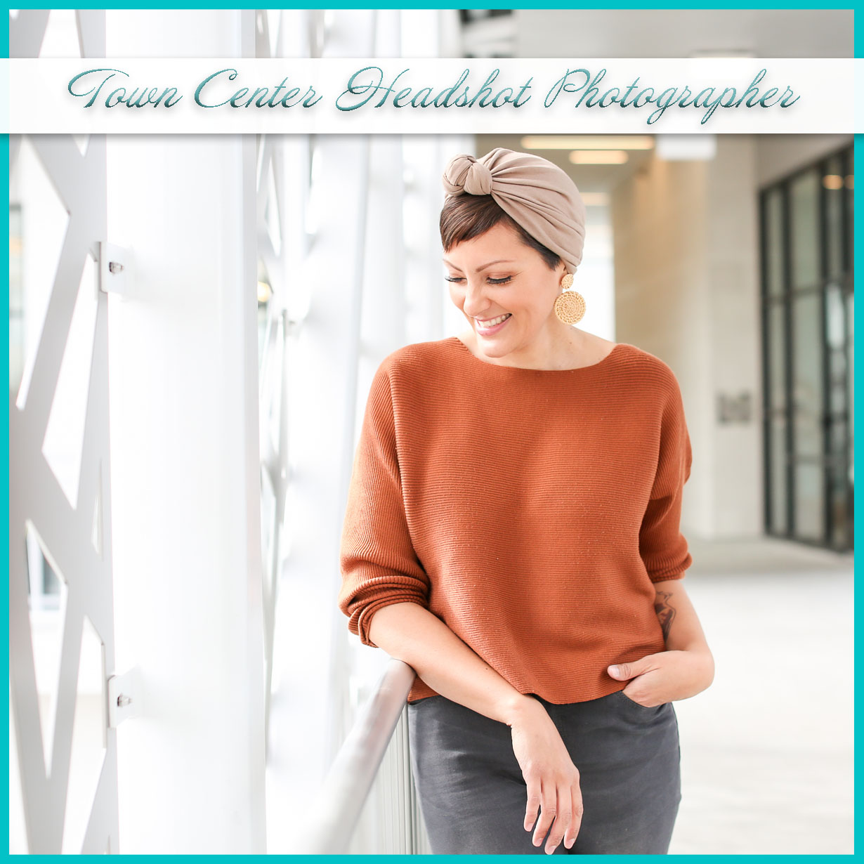 Town Center Headshot Photographer