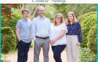 Adam Thoroughgood House Family Session