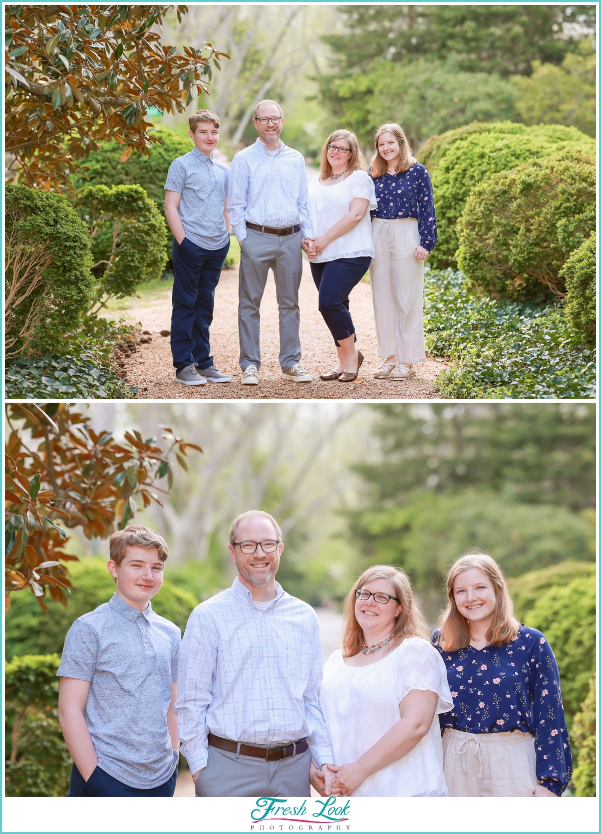 family session in Virginia Beach
