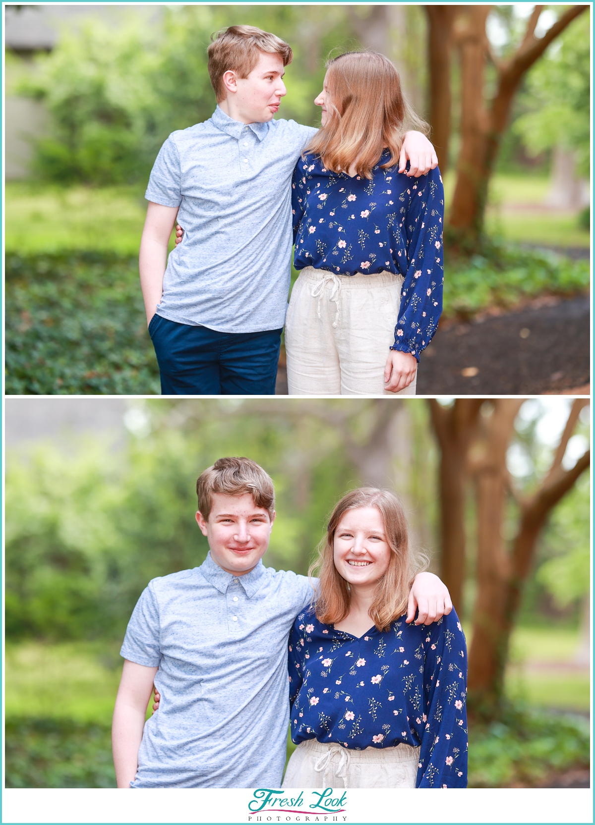 brother and sister photoshoot