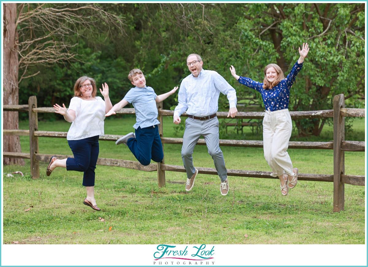 fun family photoshoot ideas
