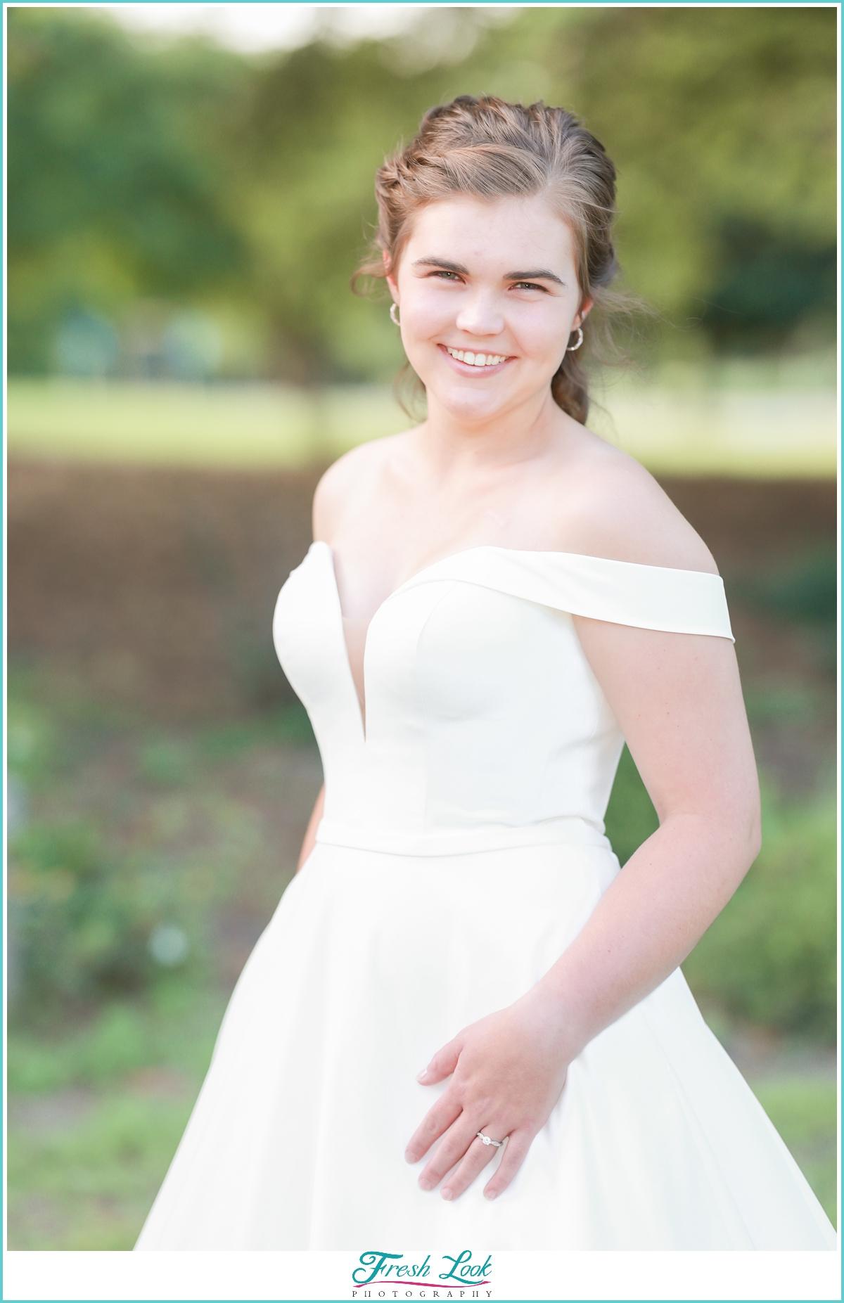 bridal portraits in Virginia Beach