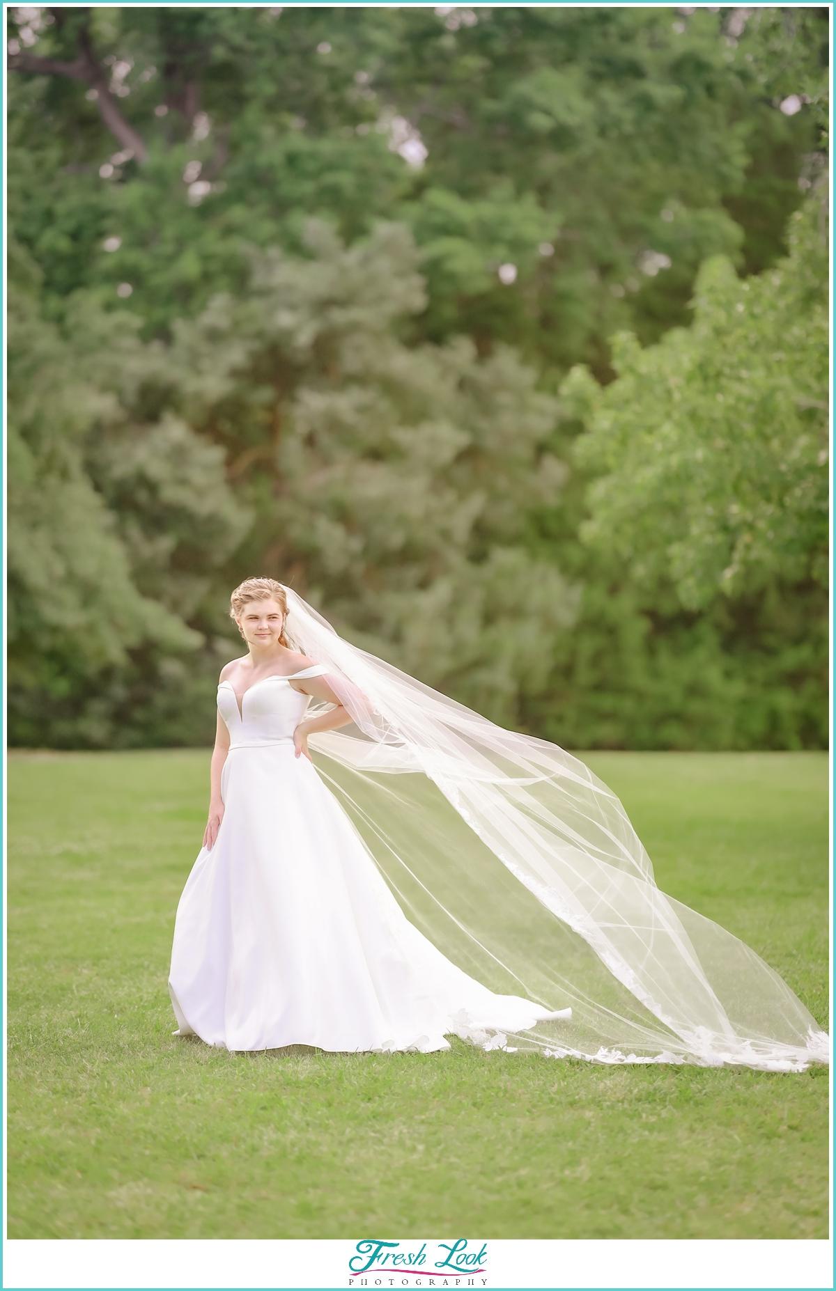 Woodsy bridal photoshoot