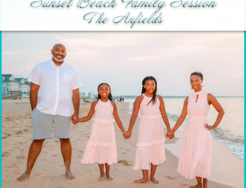 Sunset Beach Family Session | The Anfields