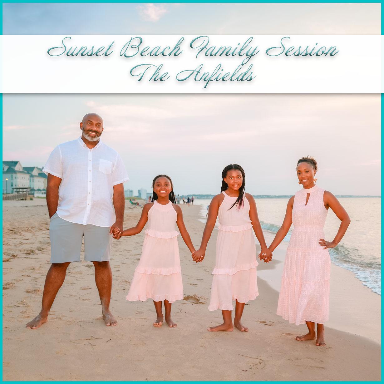 Sunset Beach Family Session