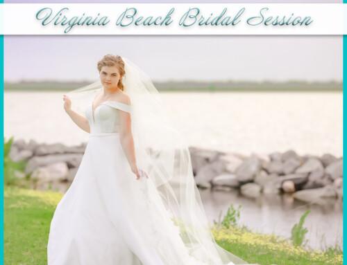 Virginia Beach Bridal Session | Alexis