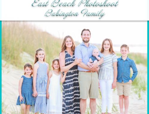 East Beach Family Session | Babington
