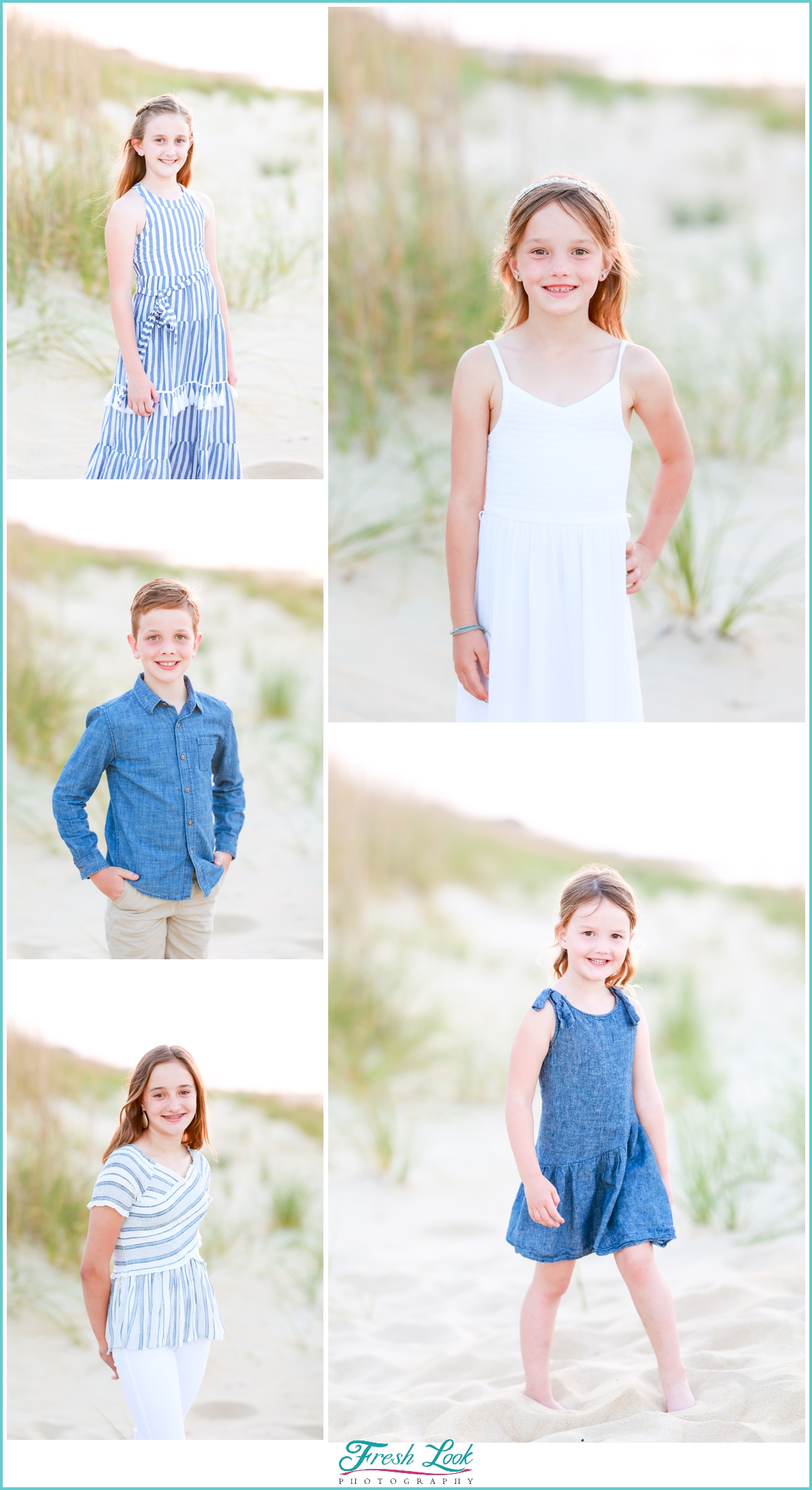 all the kids family photoshoot