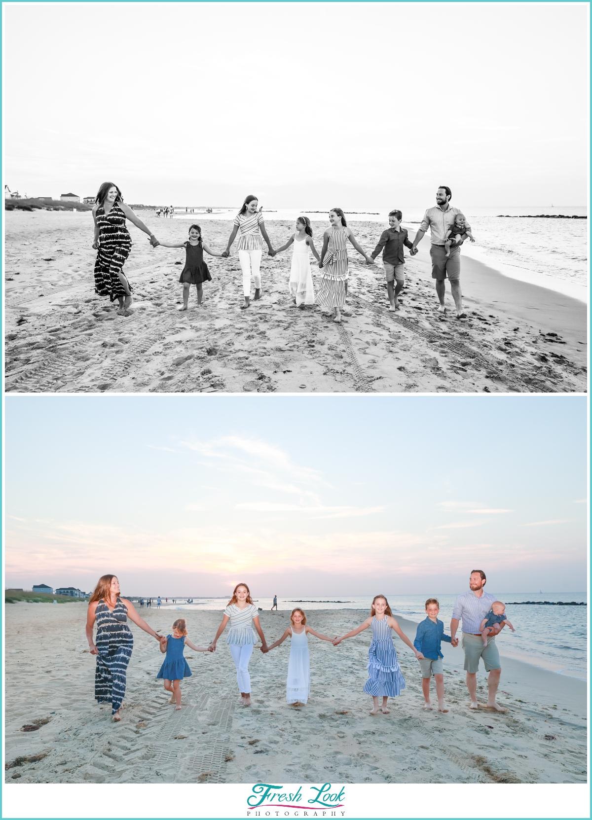 East Beach Norfolk Family Photos