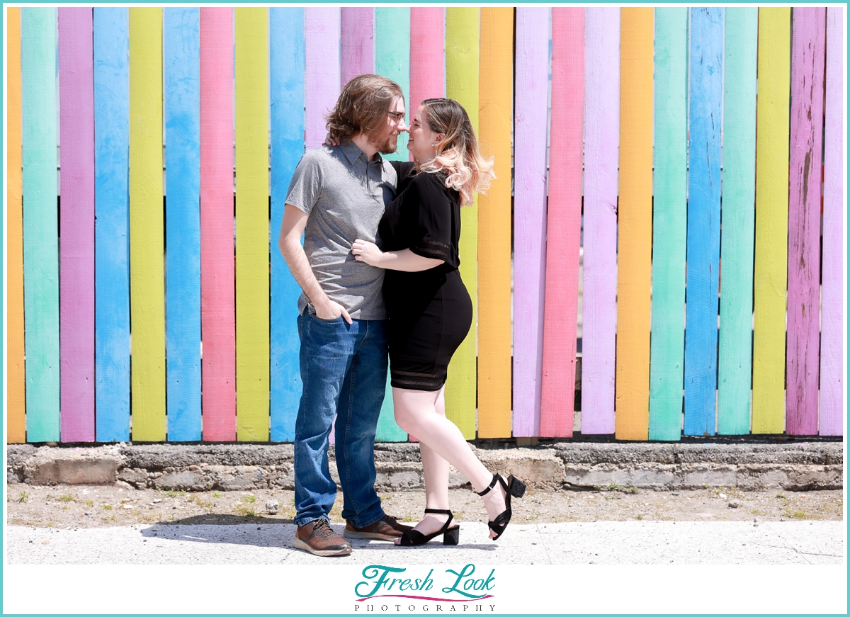 Neon Norfolk Couples Photo Session