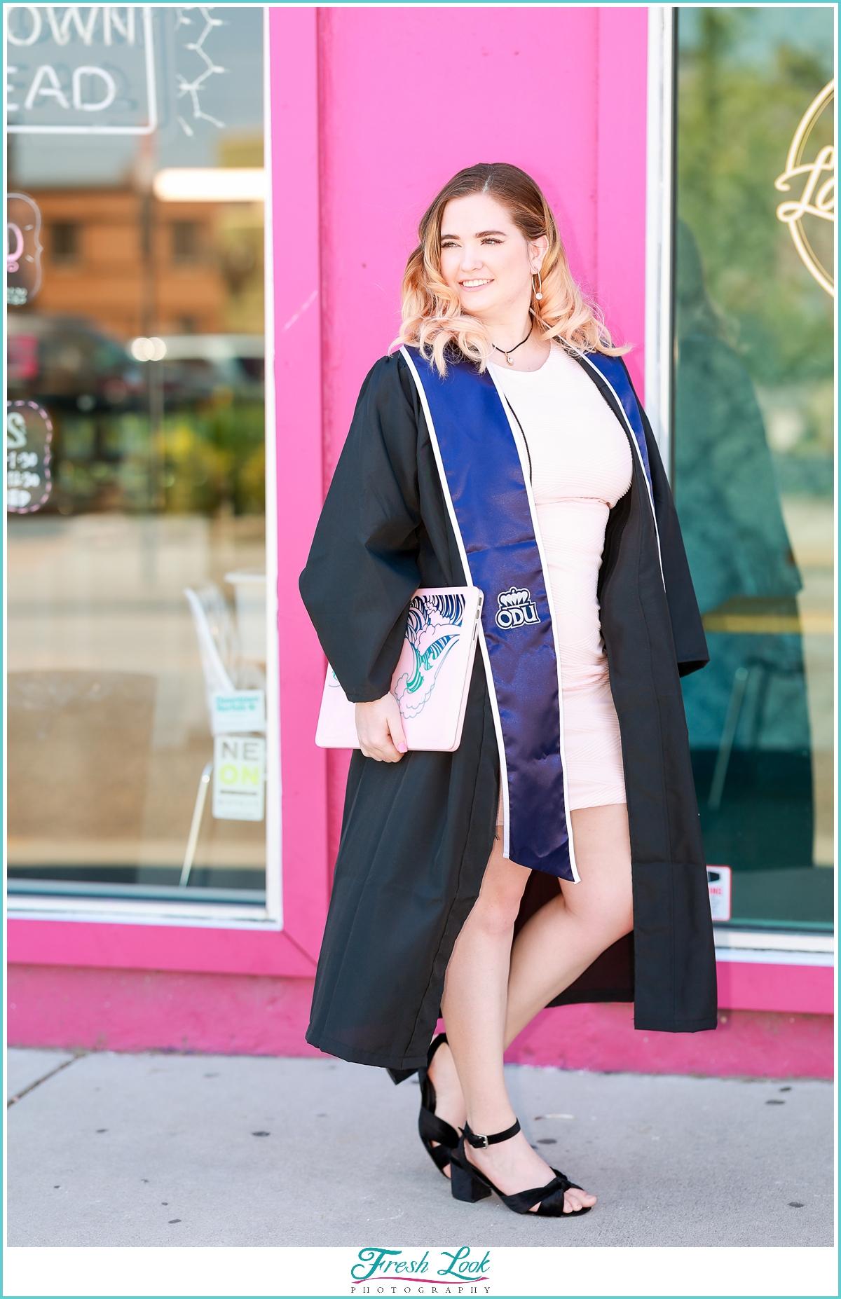 ODU Senior Graduation Photographer